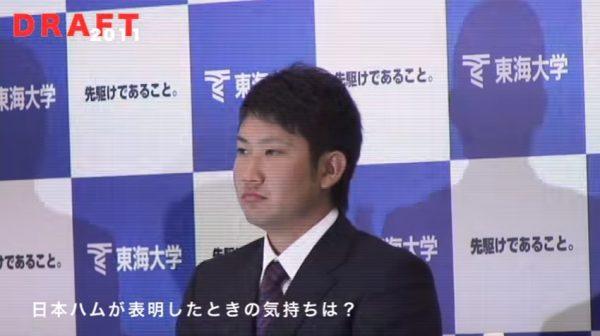 2011年菅野のドラフト会見