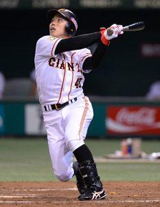 2013年の日本シリーズ第3戦で本塁打を放った矢野謙二